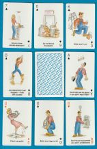 Collectible  playing cards Safety by US games 1992